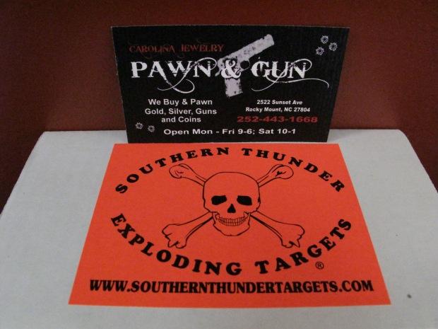 Southern Thunder Exploding Targets @ Carolina Jewelry Pawn & Gun!!