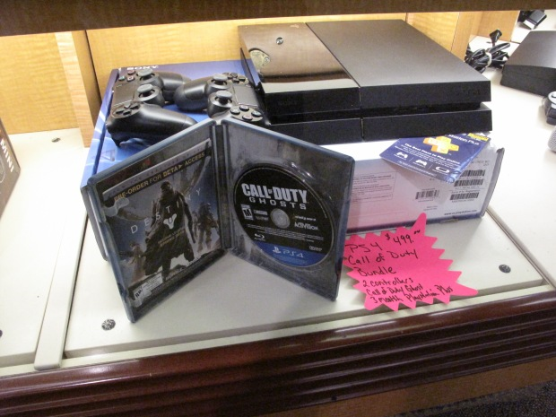 PS4 Call of Duty Bundle with 2 Controllers and 3 Month PlayStation Plus Membership!