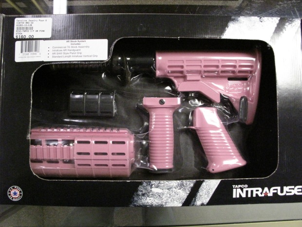 Pink Tapco Intrafuse Complete AR-15 Stock System $129.99