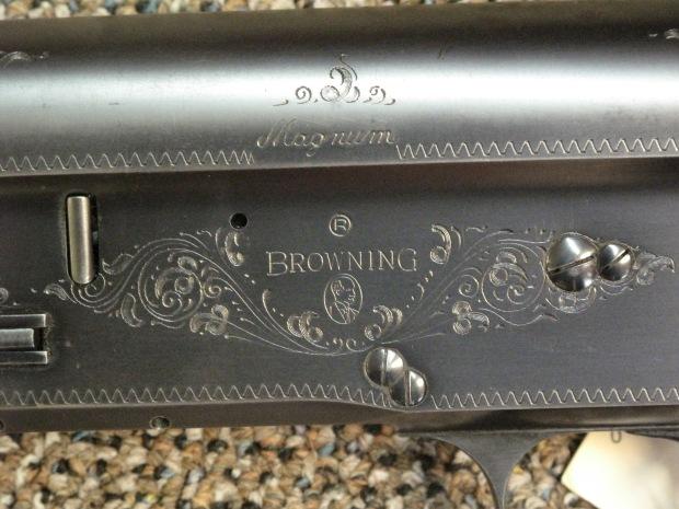 Belgium Browning A5  12 Gauge 3