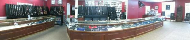 Come see us! Panoramic View of the Gun section!